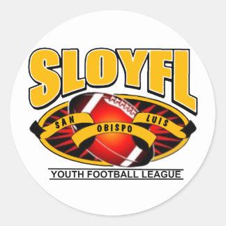 SLOYFL Logo Round Sticker