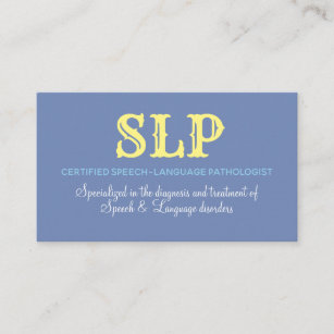 Pathologist business cards business card printing zazzle uk slp business cards serving tots to teens colourmoves