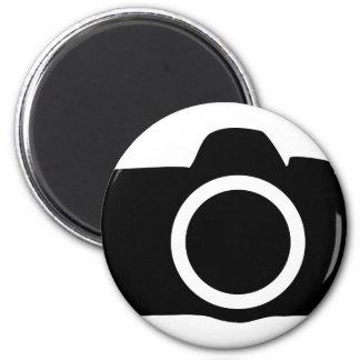 SLR Camera icon Fridge Magnets
