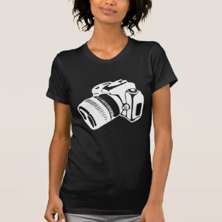 SLR Camera - Womens Tee dark
