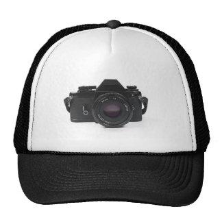 slr photo camera - classic design mesh hat