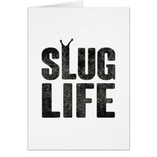 Slug Life Thug Life Card