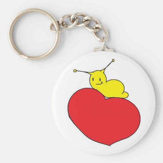 slug love keychain