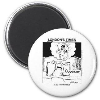 Slug Nightmares Funny Cartoon Gifts Tees Magnets