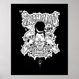 Slugganauts Zombie Poster
