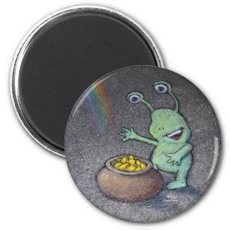 sluggo's pot of gold magnet
