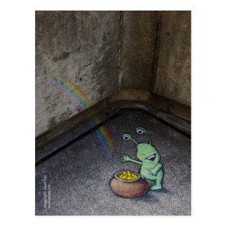 sluggo's pot of gold postcard