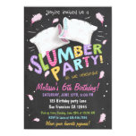 Slumber Party Pyjamas Sleepover Invitation