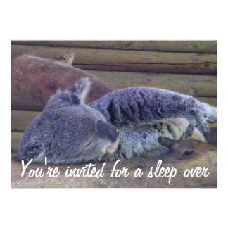 Slumber Party Sleep Over Party_ Custom Invite