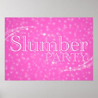 slumber party starshine poster
