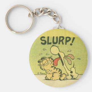 Slurp! Odie, keychain