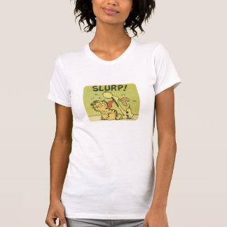 Slurp! Odie, women's shirt