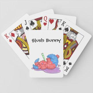 Slush Bunny Playing Cards