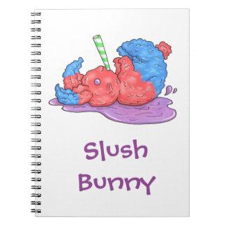 Slush Bunny Spiral Notebook