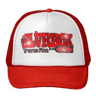 SLVRBCK red Trans Am Wyldfantasies Hat