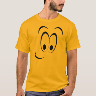 Sly Face Emoticon Group Costume T-Shirt