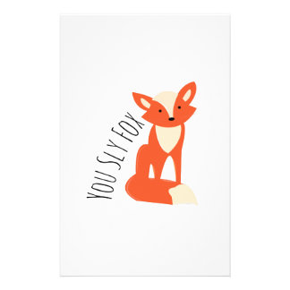 Sly Fox Stationery