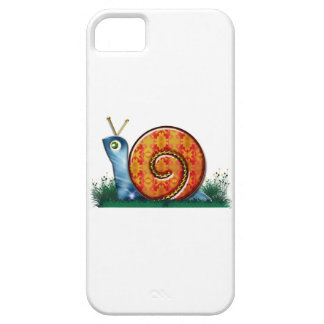 Sly Snail in Garden Grass Barely There iPhone 5 Case