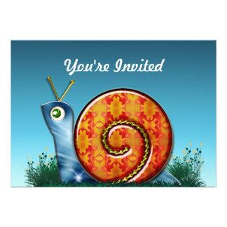 Sly Snail in Garden Grass Announcement