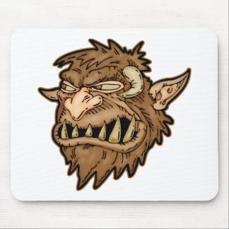 Sly Werewolf Mouse Pad