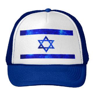 Slylized Flag of Israel Star of David Hat