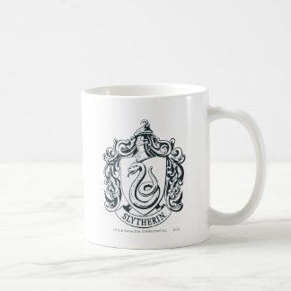 Slytherin Crest Basic White Mug