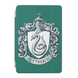 Slytherin Crest Blue iPad Mini Cover