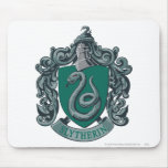 Slytherin Crest Green Mouse Pad