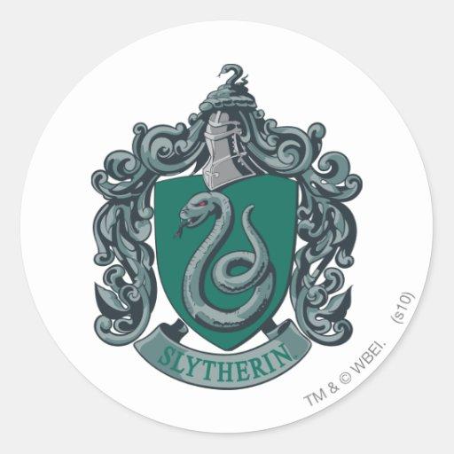 Slytherin Crest Green Sticker