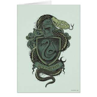 SLYTHERIN™ Crest Greeting Card