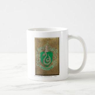 Slytherin Crest HPE6 Basic White Mug