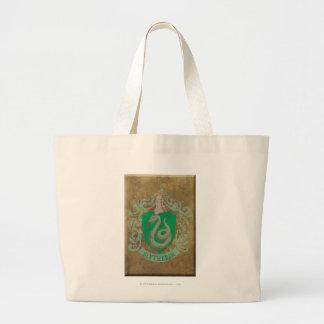 Slytherin Crest HPE6 Jumbo Tote Bag