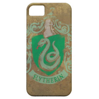 Slytherin Crest Painted iPhone 5 Cases