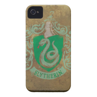 Slytherin Crest Painted Case-Mate iPhone 4 Case