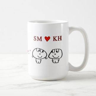 """""""SM heart KH"""" Mugs"""