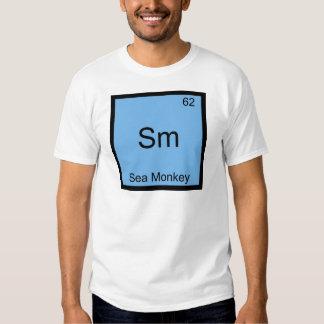 Sm - Sea Monkey Funny Chemistry Element Symbol Tee