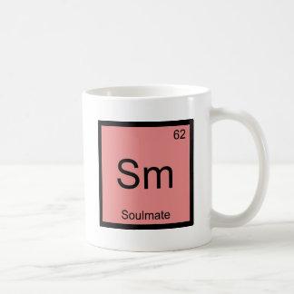 Sm - Soulmate Funny Chemistry Element Symbol Tee Coffee Mug