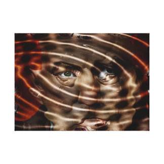 """Small (24.00"""" x 16.00""""), 1.5"""", Single , wrapped ca Canvas Print"""