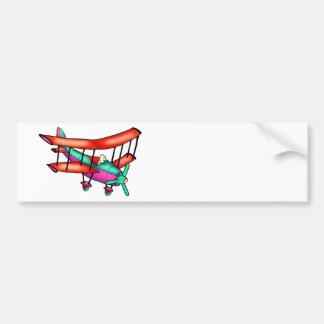 Small airplane bumper sticker