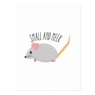 Small And Meek Postcard