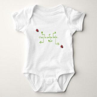 small animal baby bodysuit