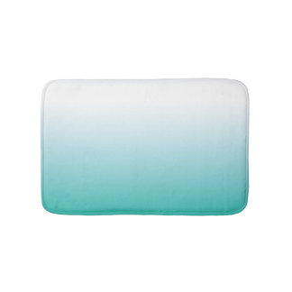 SMALL AQUA OMBRE BATH MAT