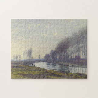 Small Arm of Seine at Argenteuil Monet Fine Art Jigsaw Puzzle