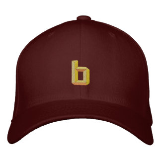 Small B Embroidered Hat