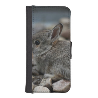 SMALL BABY BUNNY iPhone SE/5/5s WALLET CASE