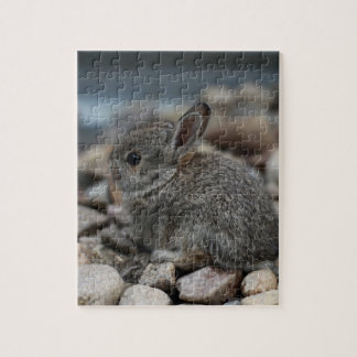 SMALL BABY BUNNY JIGSAW PUZZLE