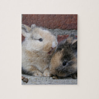 SMALL BABY RABBITS JIGSAW PUZZLE