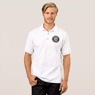 Small Black Gumba Logo Front Left Polo Shirt