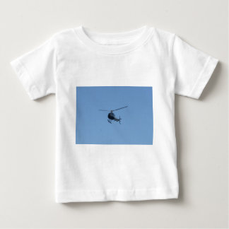 Small black helicopter. baby T-Shirt