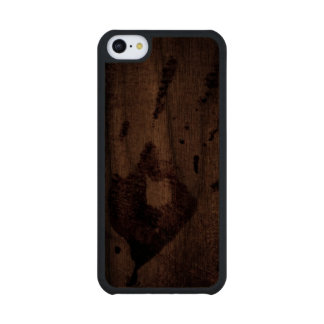 Small Bloody Hand Print at Crime Scene Walnut iPhone 5C Case